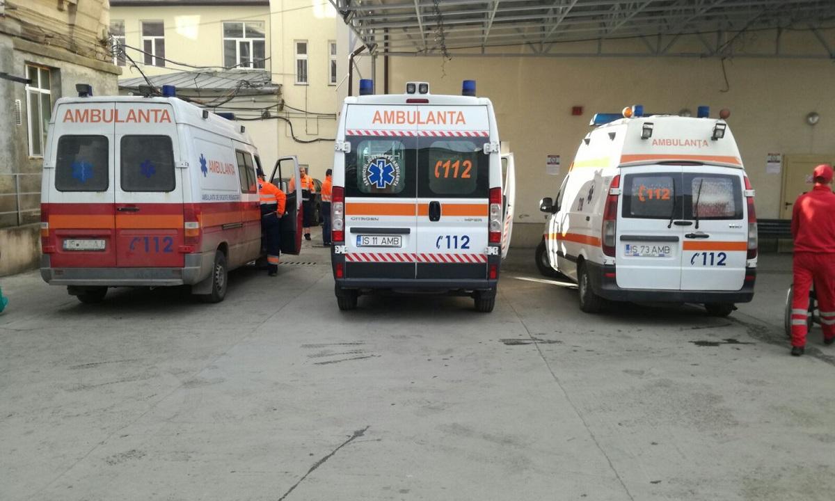 Iași: Un bărbat a ajuns la spital în stare gravă, după ce a încercat să-i dea foc soției