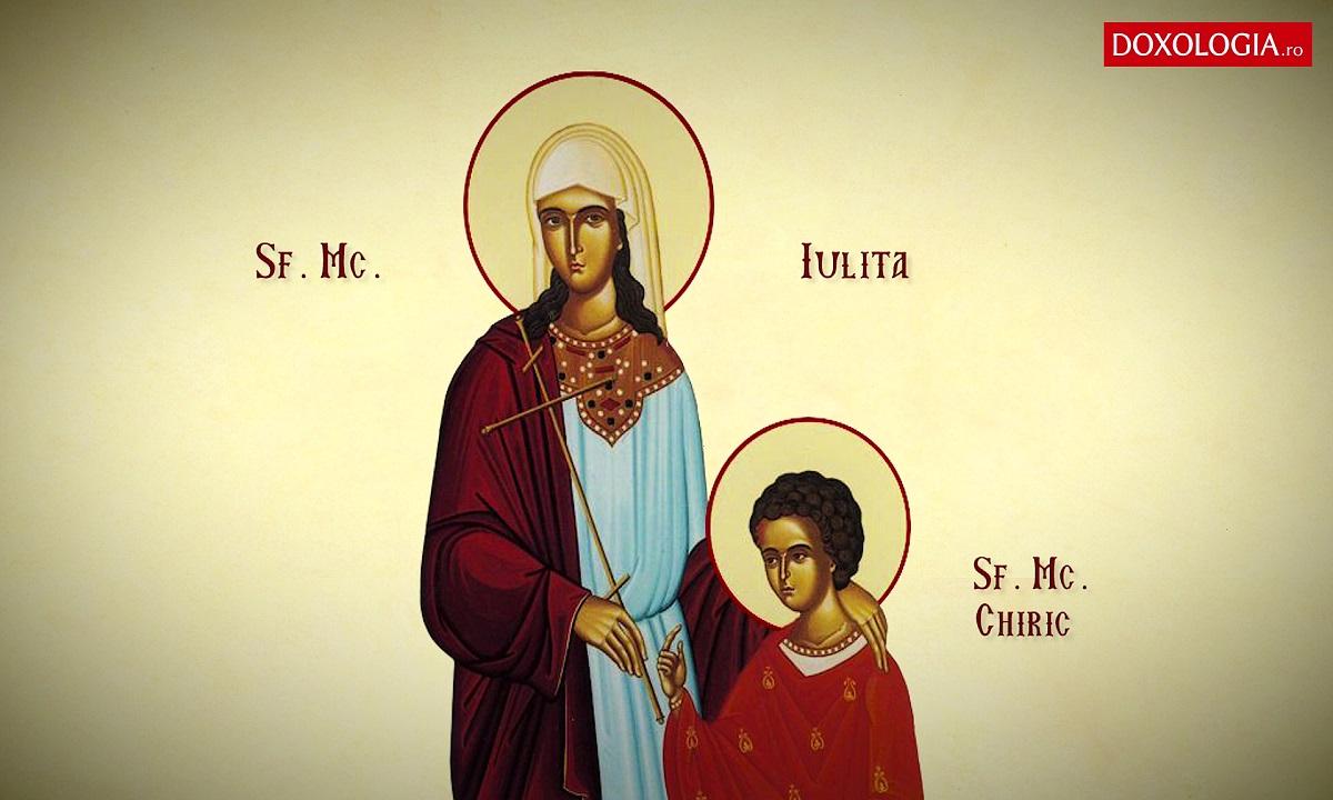 30 iulie: Pomenirea Sfintei Mucenițe Iulita (Iulia)