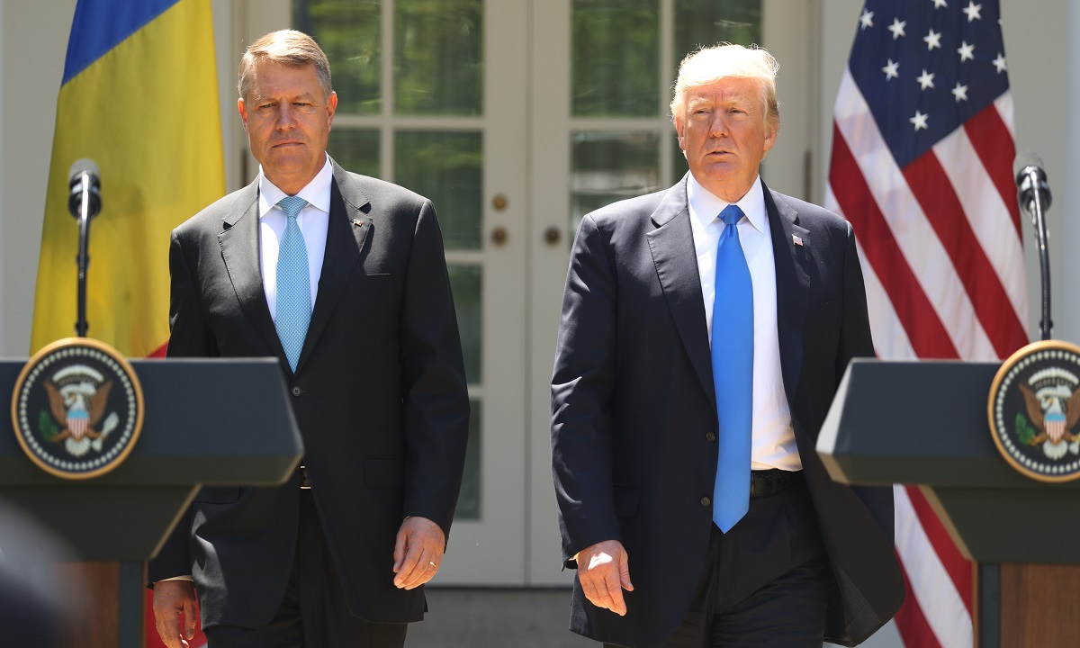 Donald Trump se declară onorat de întâlnirea cu preşedintele Klaus Iohannis