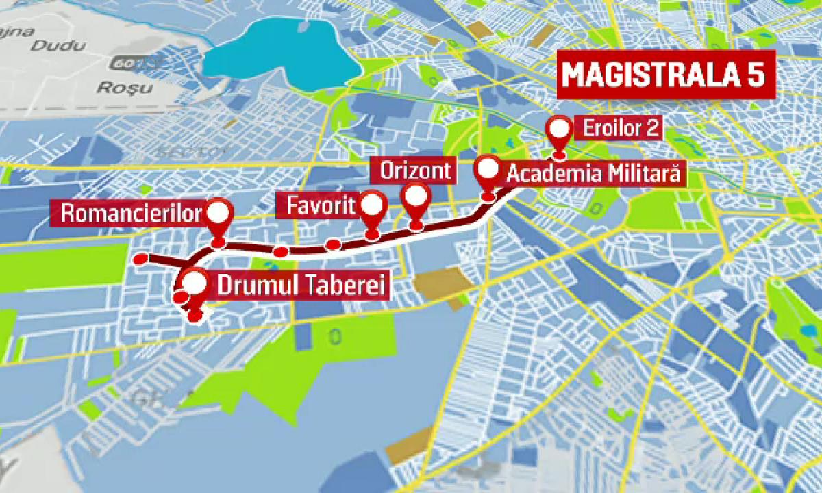Vesti proaste pentru Drumul Taberei: Finalizarea metroului ...  |Metrou Drumul Taberei