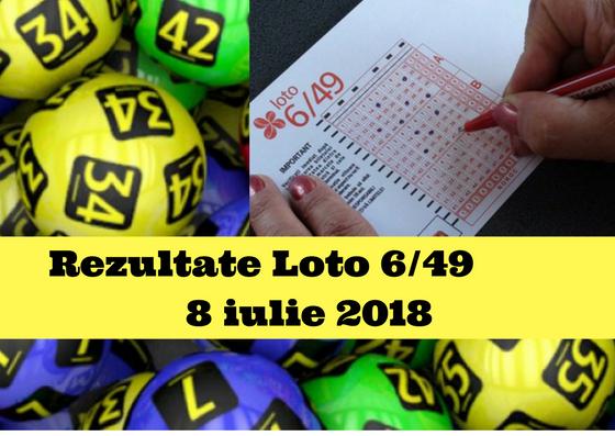 Rezultate Loto 6/49 8 iulie 2018. Care sunt numerele câștigătoare