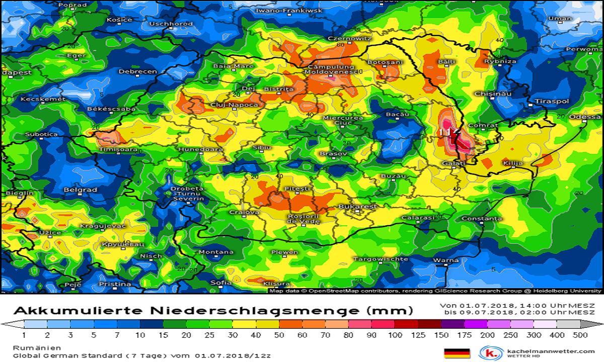 Meteorologii anunță vremea pentru weekend. Ce se întâmplă cu ploile