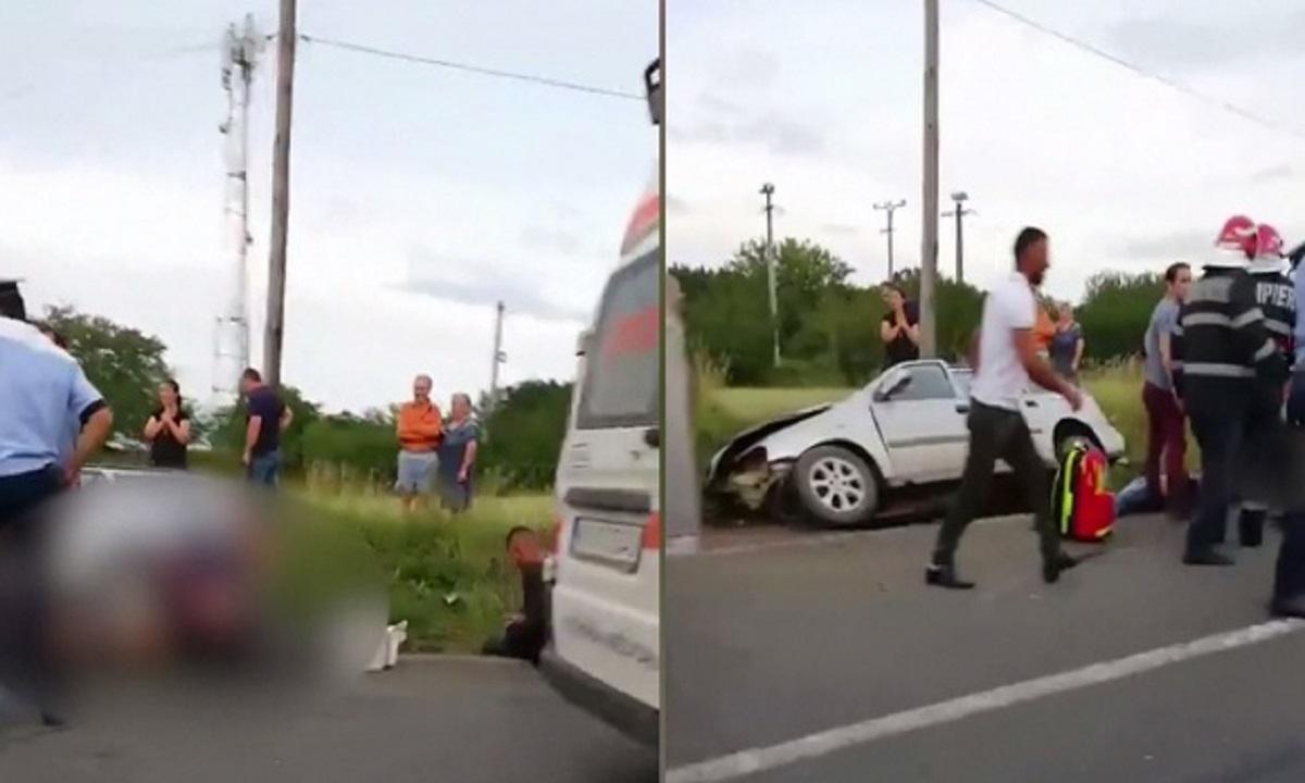 Accident mortal: Live pe Facebook, în drum spre moarte