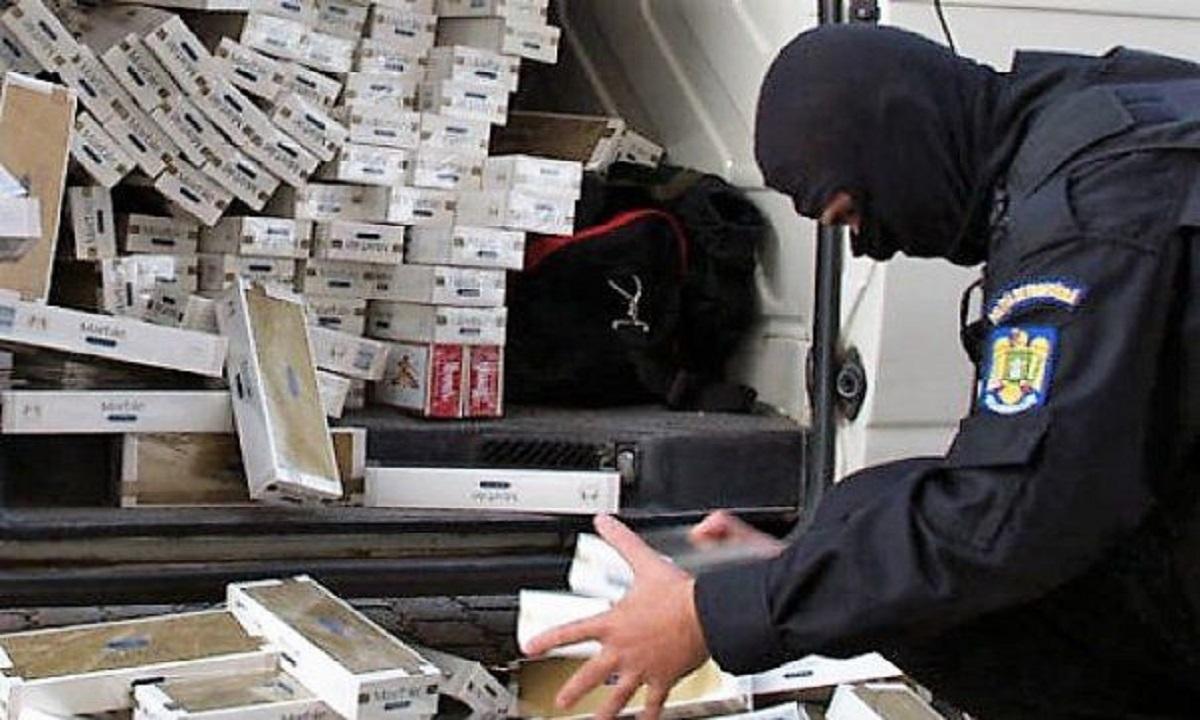 Suceava: Țigări de aproximativ 265.000 de mii de lei, confiscate