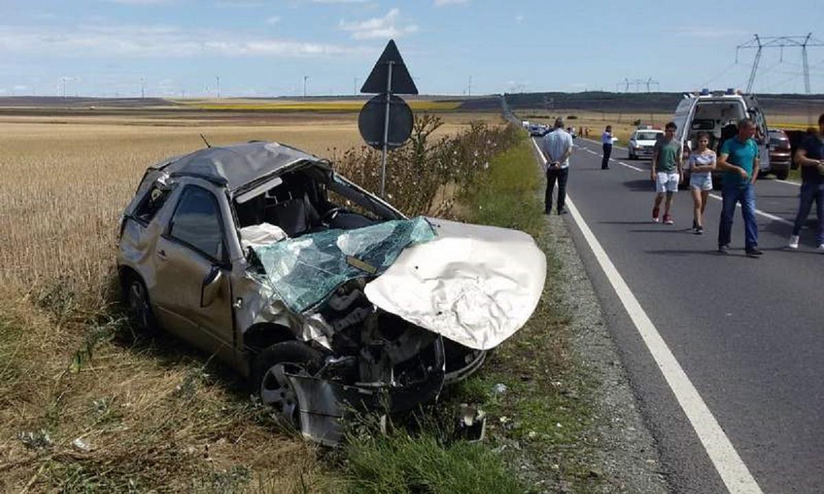 Accident grav în Constanța. Trei copii au fost transportați la spital