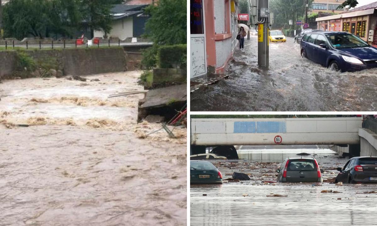 INHGA: Cod galben de inundații pe zeci de râuri, până luni