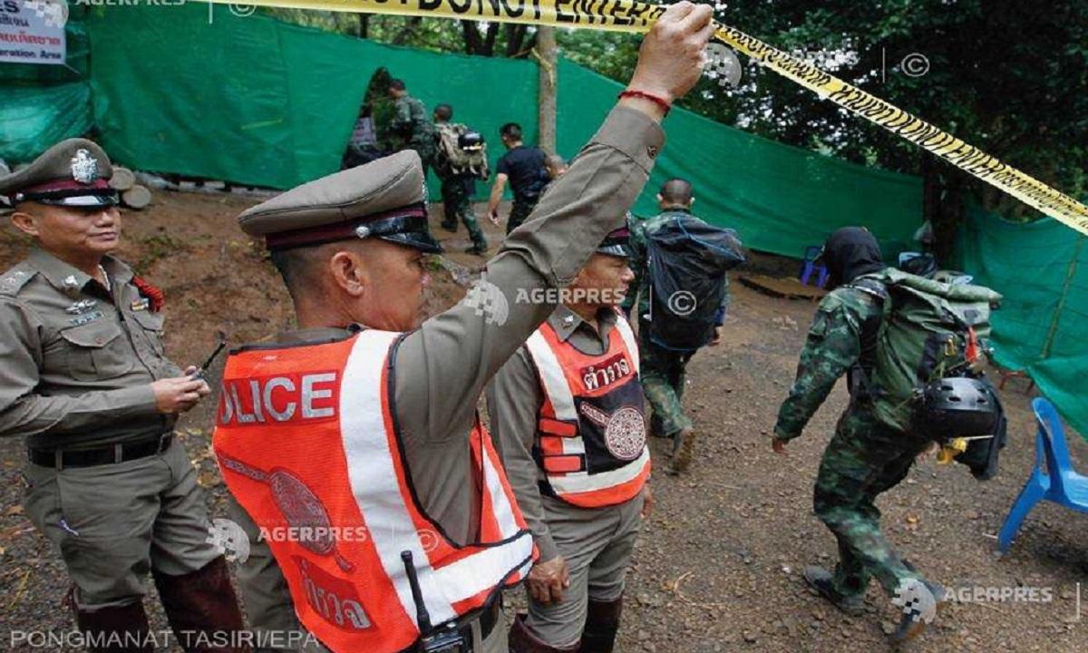 Doi copii au fost scoși din peștera inundată din Thailanda și au ajuns la spital
