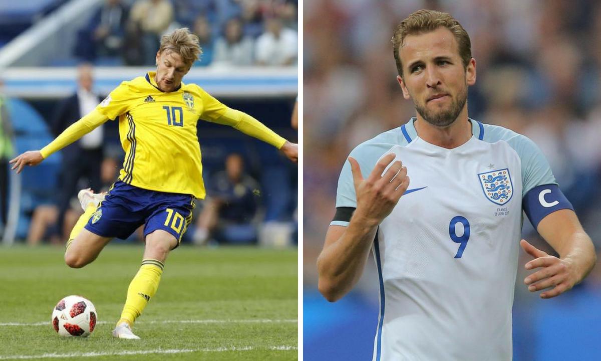 Suedia - Anglia scor live și rezumat video - sferturile CM 2018