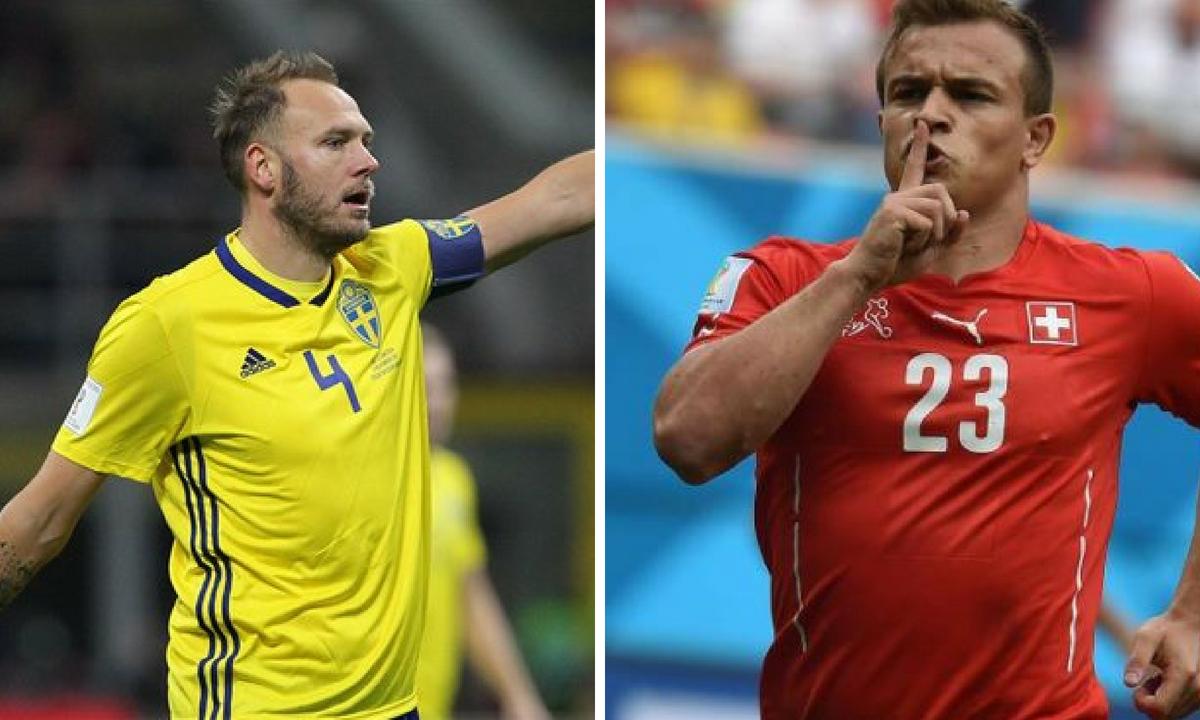 Suedia - Elveția scor live și video - Optimi CM 2018 Livescore