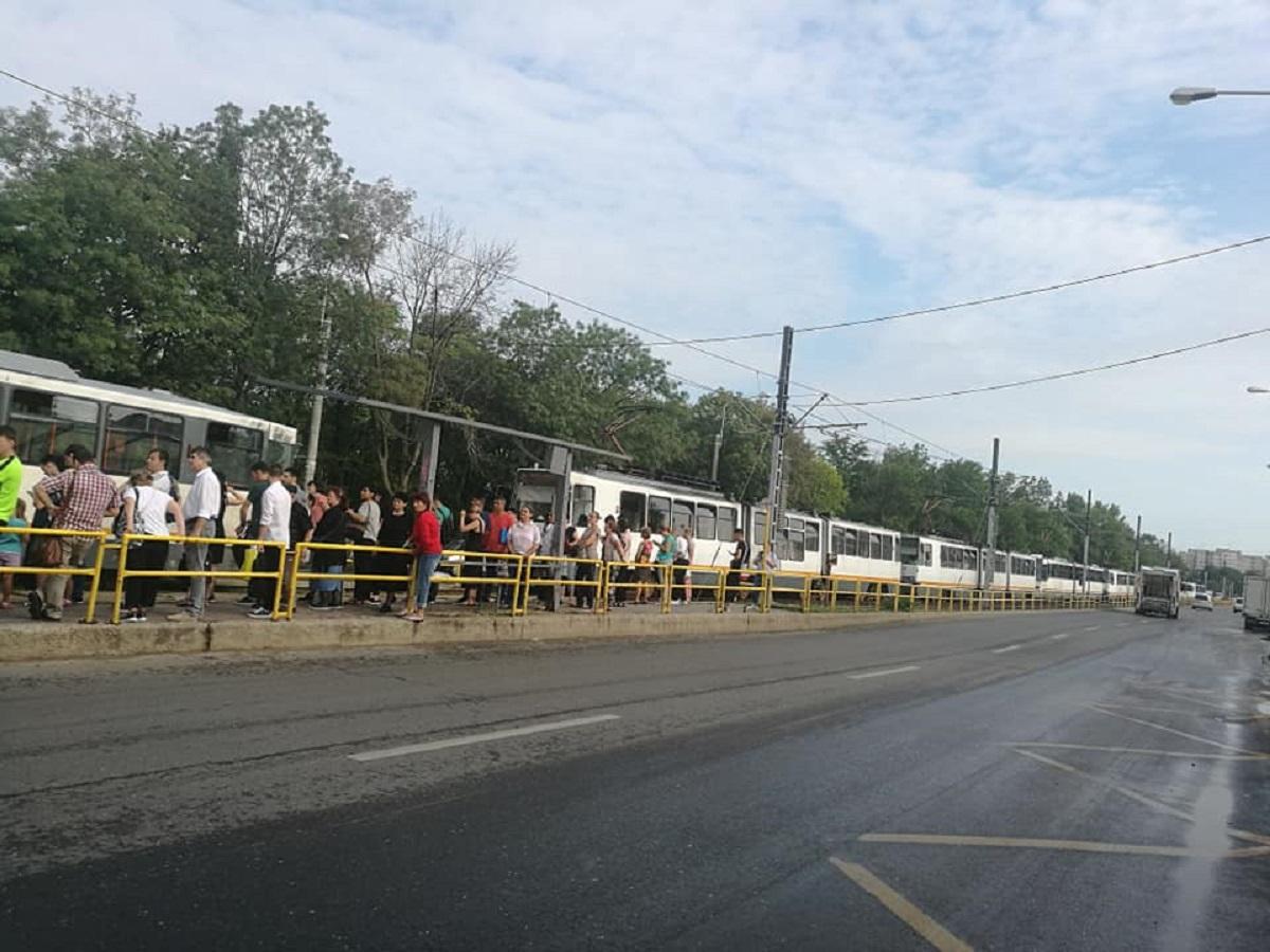 Probleme cu linia de tramvai 41 în cartierul Drumul Taberei