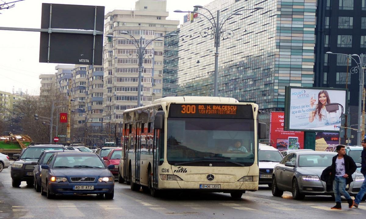 Un bărbat care s-a întors din Roma, prins într-un autobuz STB cu simptome ale virusului COVID-19