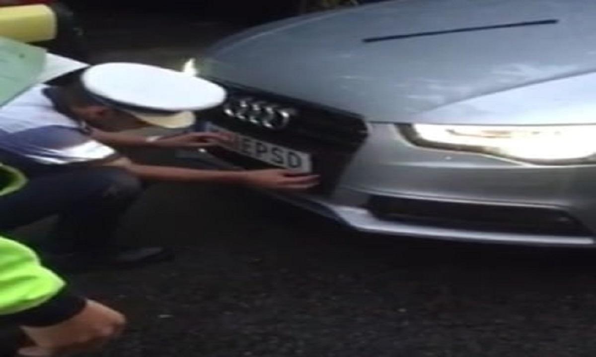 Șoferul mașinii anti-PSD scapă de dosarul penal