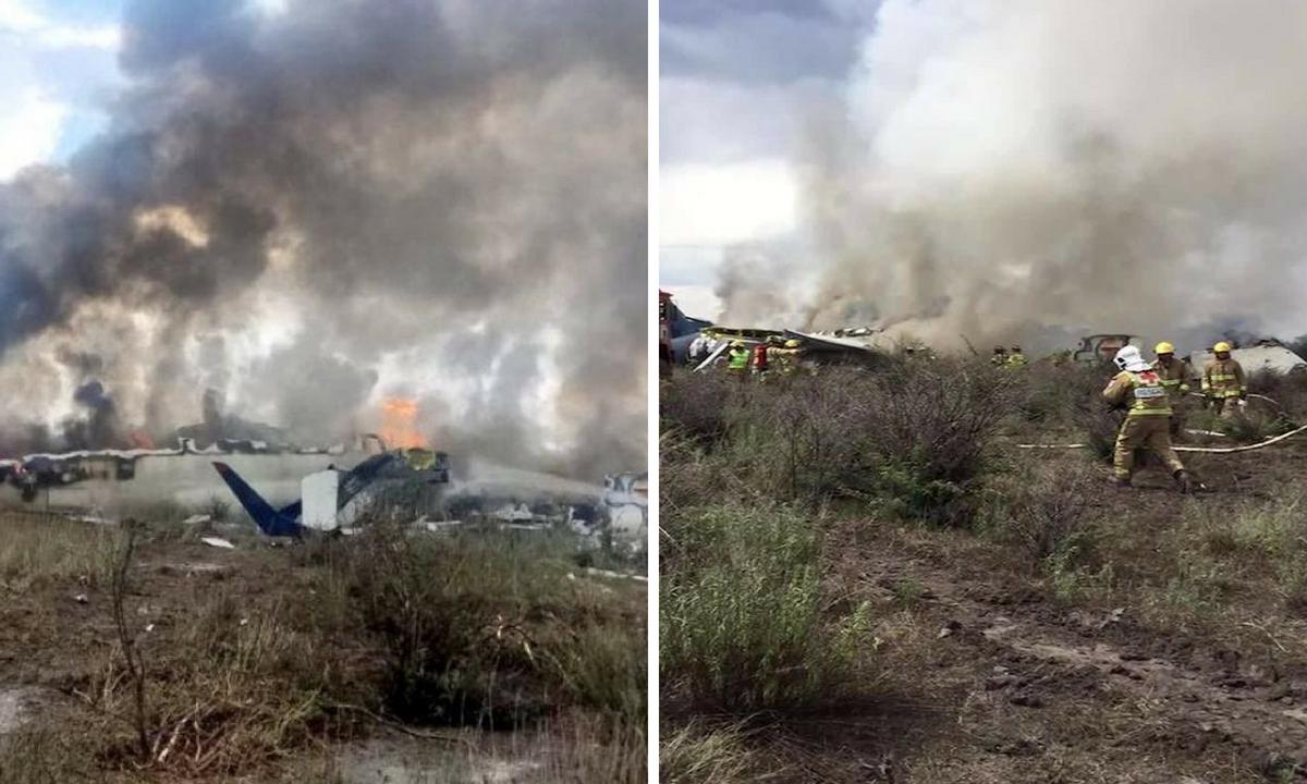Mexic: Un avion cu 100 de persoane la bord s-a prăbuşit!