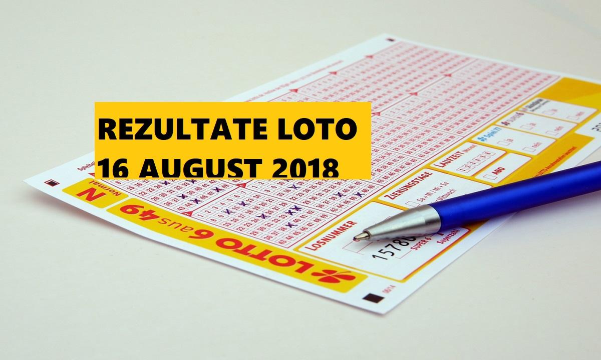 Rezultate Loto 16 august 2018. Numerele câștigătoare la Loto 6 din 49, Loto 5 din 40, Joker și Noroc