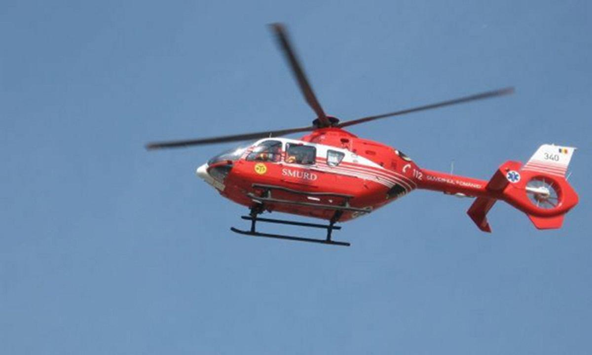 Sibiu: Trei persoane electrocutate! A fost solicitat un elicopter SMURD