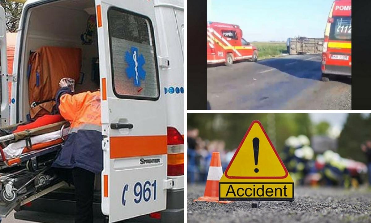 Buzău: Accident în Pogoanele. A fost activat planul roșu de intervenție