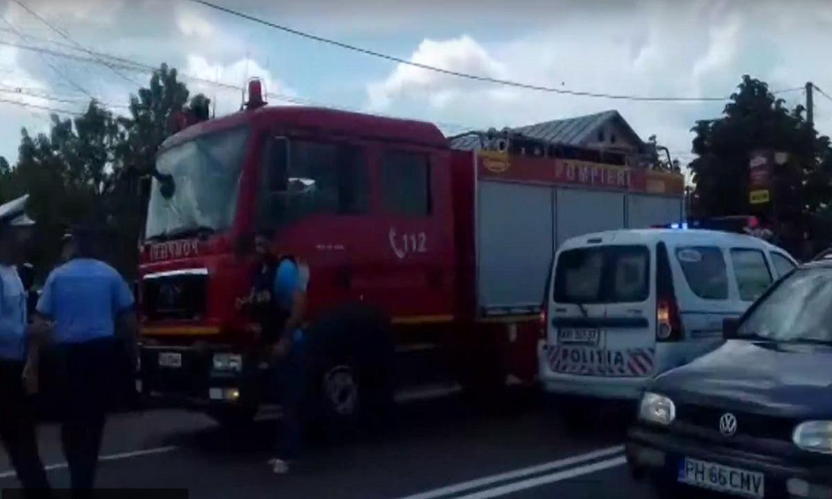 Accident în Valea Călugărească, pe 27 august. Cinci victime, două dintre ele sunt rănite grav
