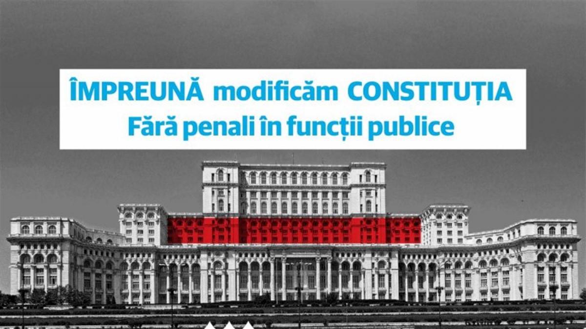 Inițiativa Fără Penali în funcții publice a adunat un milion de semnături