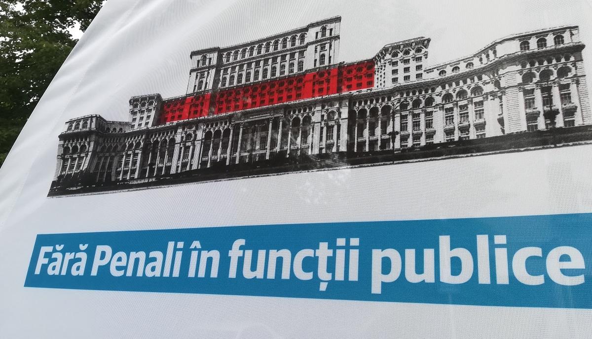 Campania Fără penali în funcții publice a depășit numărul necesar de semnături. Ce se va întâmpla