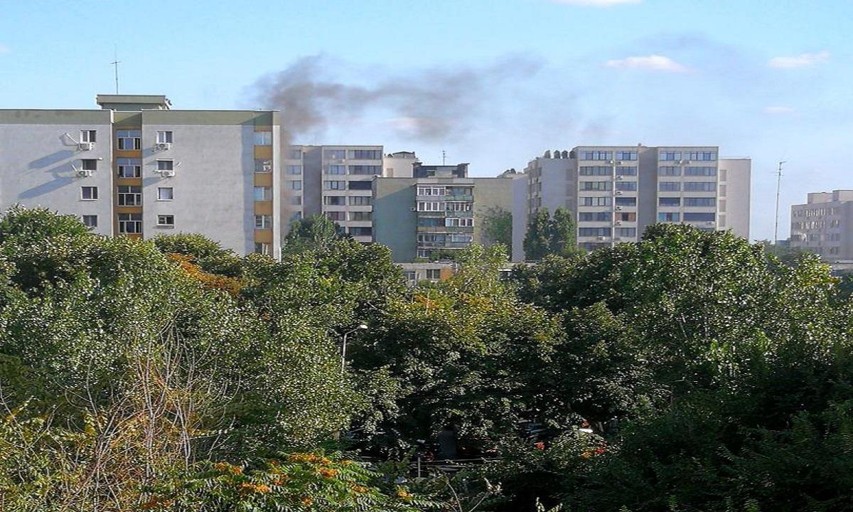Explozie puternică în București. Patru persoane au fost rănite