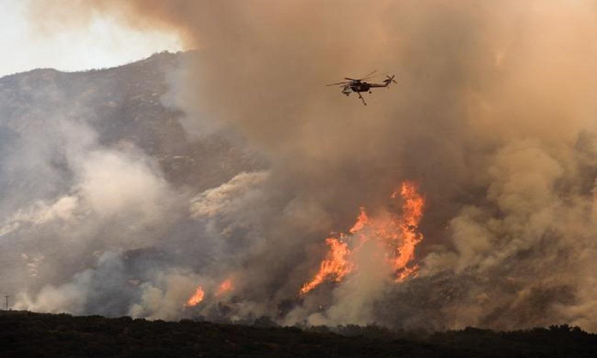 Cel mai mare incendiu din istoria Californiei
