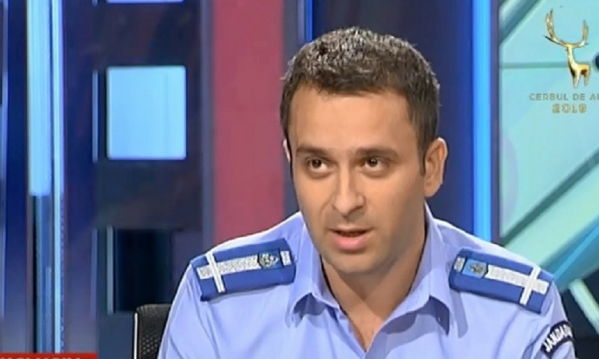 Maiorul Laurențiu Cazan, care a coordonat protestul în Piața Victoriei, a fost promovat