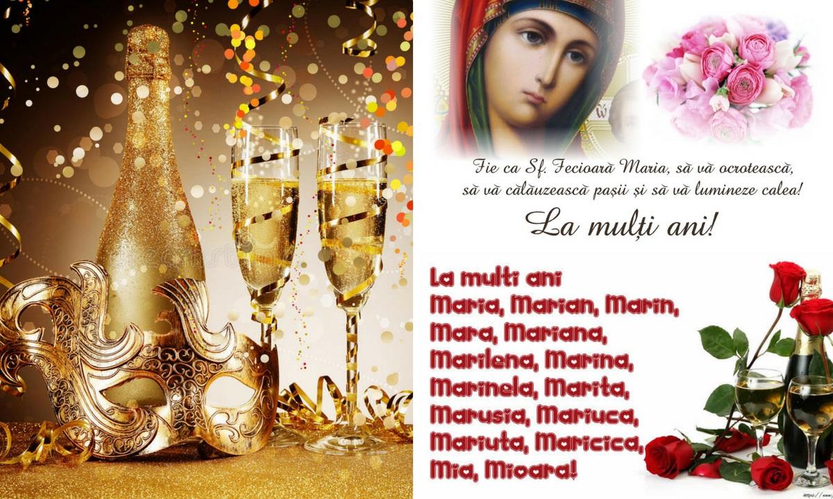 Mesaje de Sfânta Maria Mare. Urări frumoase de la mulți ani!