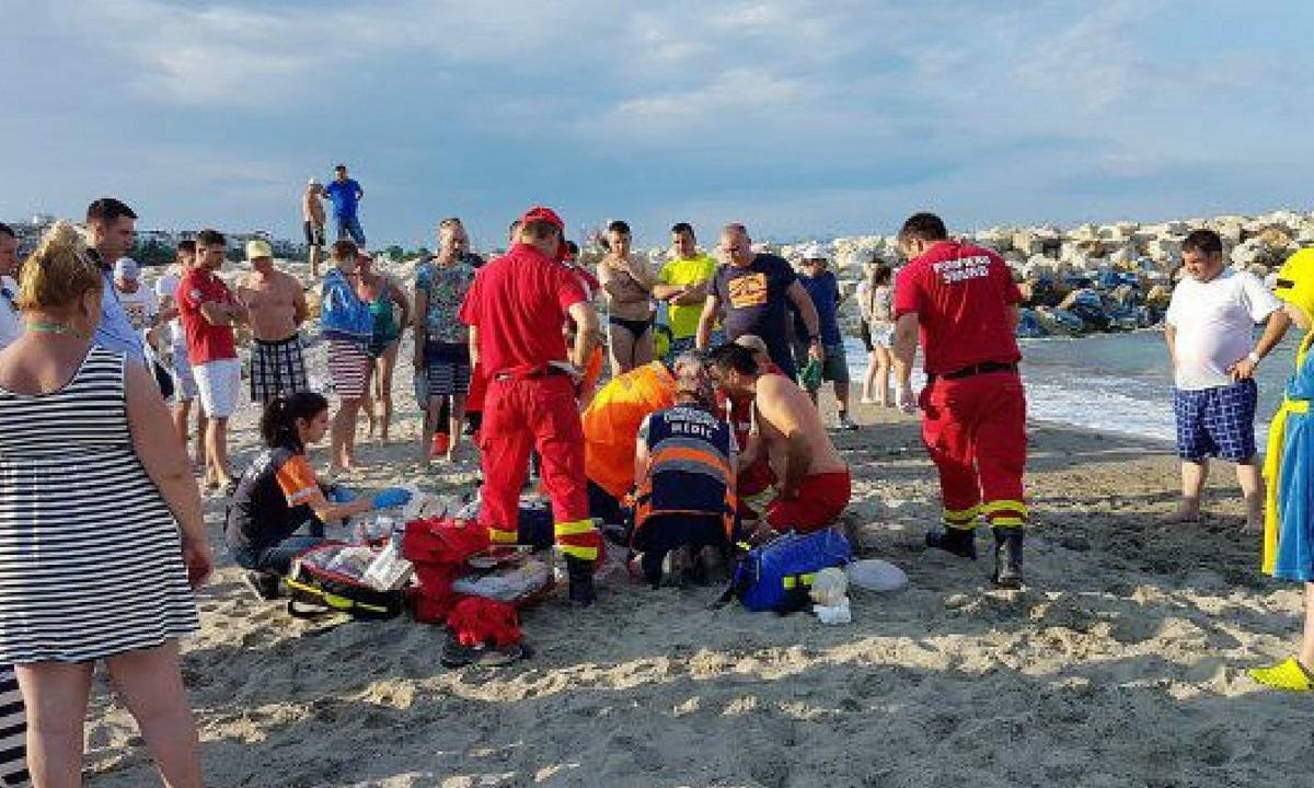 Trei oameni au murit înecați în stațiunile de pe litoralul românesc, marți