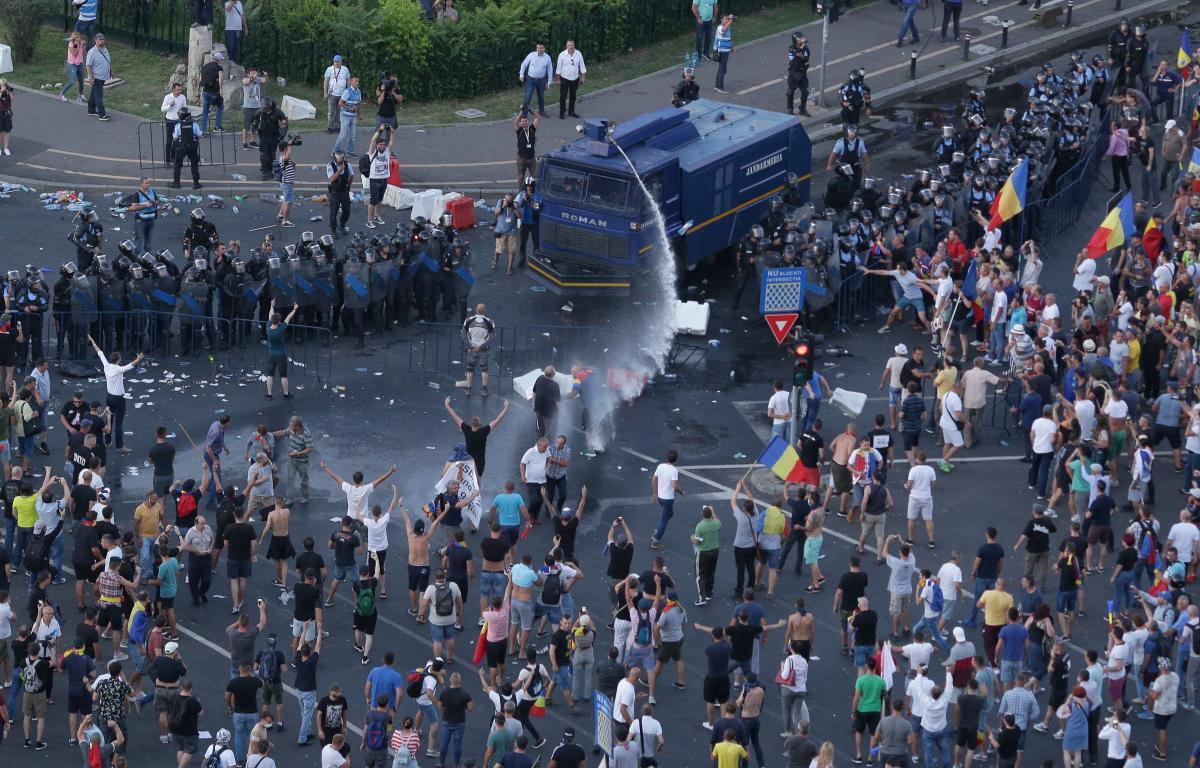 Parchetul Militar București spune că niciun procuror de-al său nu a fost în centrul de comandă al Jandarmeriei la protestul Diasporei