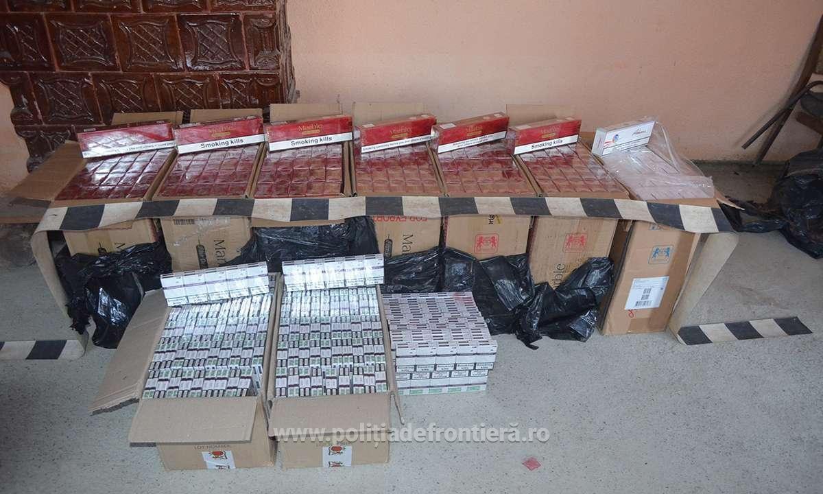 Focuri de avertisment la frontieră în Sighetu Marmației pentru prinderea unor suspecţi de contrabandă cu ţigări