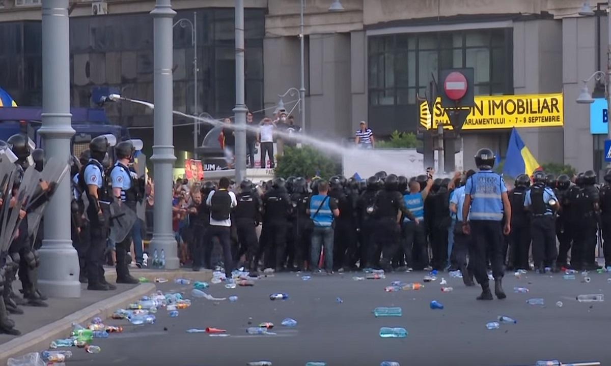 """Șeful jandarmilor care a coordonat acțiunea din 10 august din Piața Victoriei: """"Îmi cer scuze"""""""