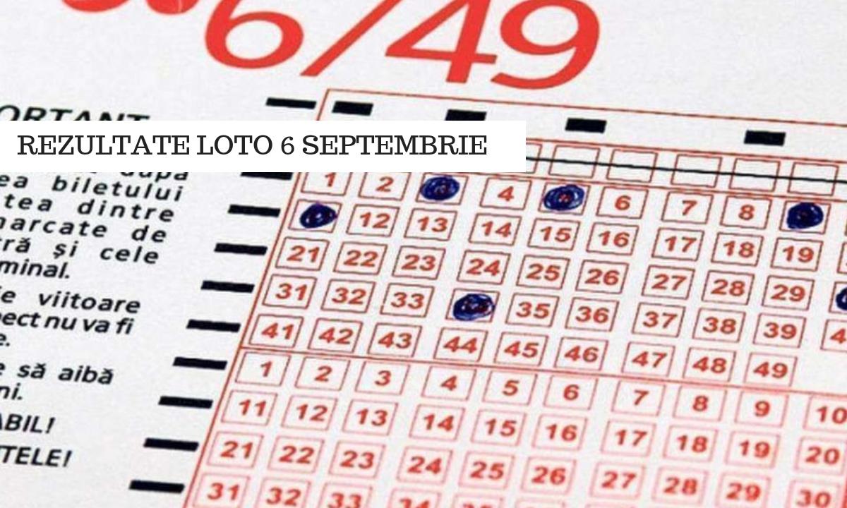 Rezultate loto 6 septembrie. Numerele câștigătoare la Loto 6/49, Joker și restul jocurilor