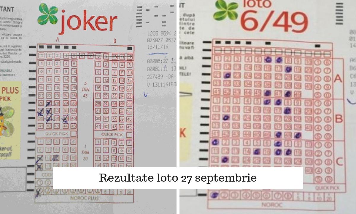 Loteria Romana - joker si noroc plus