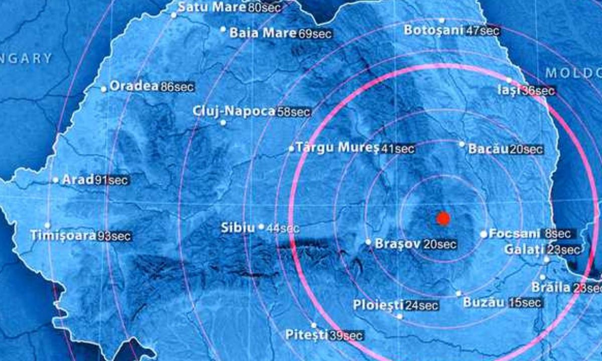 Cutremur pe 19 septembrie în România. Ce magnitudine a avut