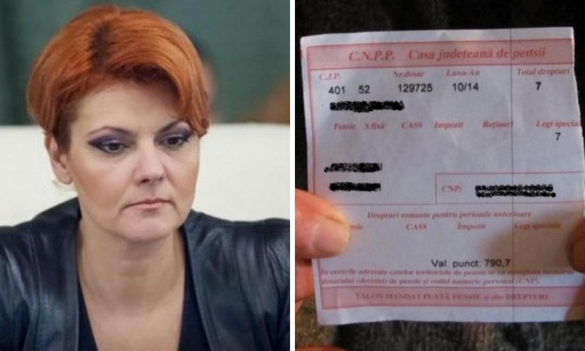 Ultimele detalii despre Legea Pensiilor, dezvăluite de Lia Olguța Vasilescu