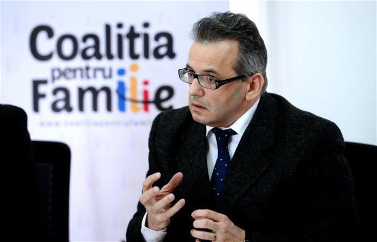 """Președintele Coaliției pentru Familie nu crede în violența domestică din România: """"Sunt accidente"""""""
