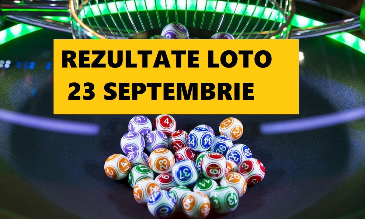 Rezultate Loto 23 septembrie 2018. Ce numere au fost extrase la Loto 6/49, Joker, Noroc și restul jocurilor