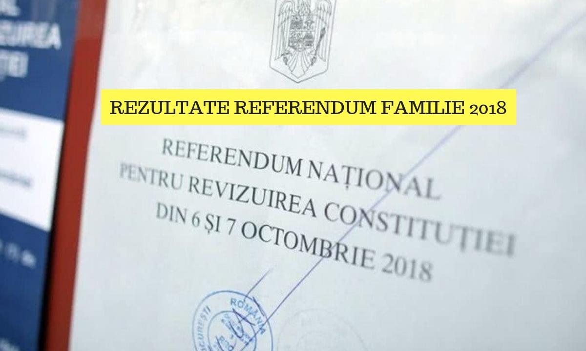 Rezultate referendum familie. Prezenţa la vot şi exit poll 7 octombrie