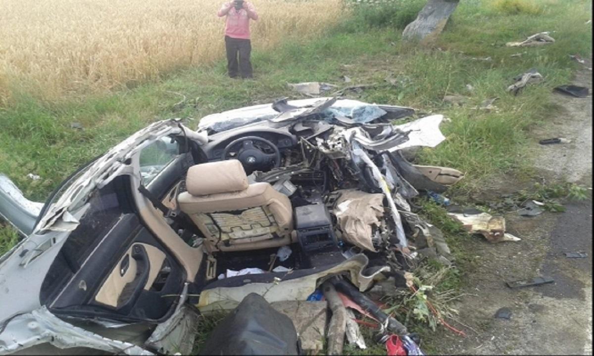 Sibiu: Accident în Tălmaciu. Trei oameni au fost răniți