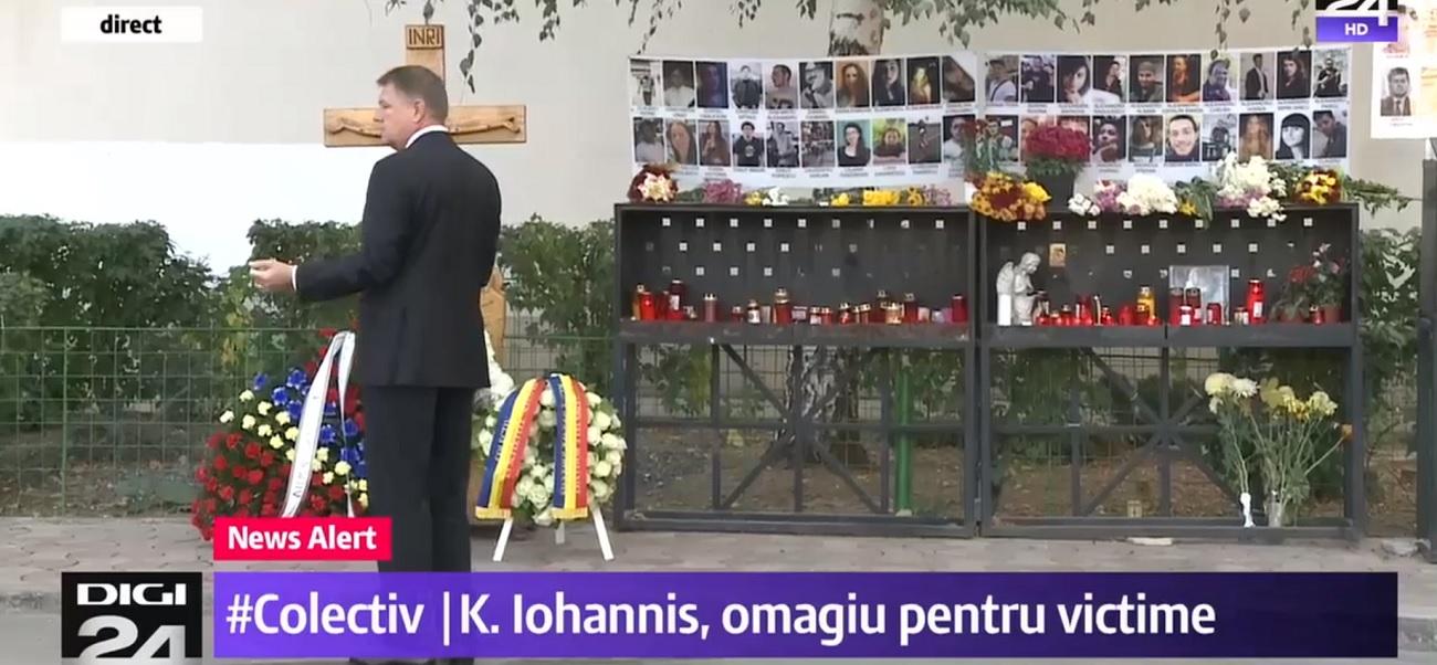 Ce au făcut Klaus Iohannis și Viorica Dăncilă în ziua comemorării tragediei din Colectiv