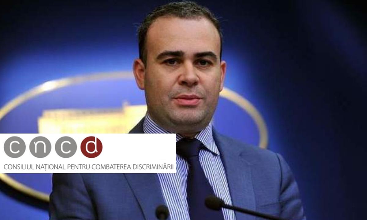 CNCD a decis: Darius Vâlcov, amendat!