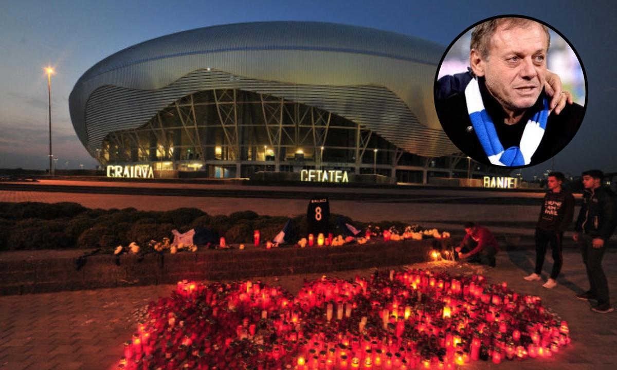 Înmormântare Ilie Balaci. Unde va fi înhumat marți fostul fotbalist al Craiovei