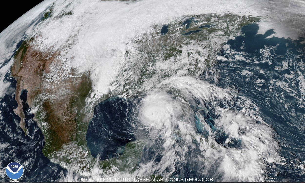 Stare de urgență în SUA. Uraganul Michael va lovi puternic mai multe state
