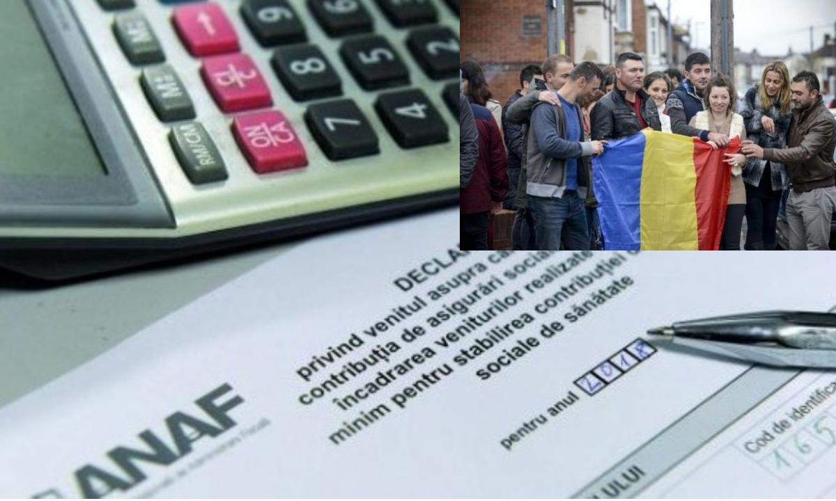 Anunțul ANAF pentru românii care muncesc în străinătate. Ce trebuie să facă