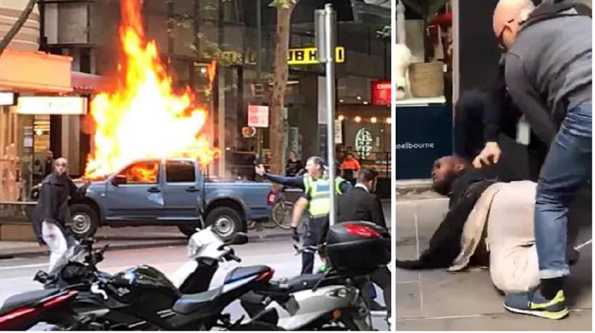 Atac terorist în Australia. Un individ a înjunghiat mai mulți oameni pe stradă