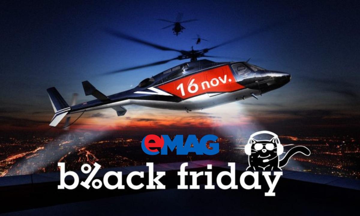 Când începe Black Friday 2018 la eMAG și ce reduceri sunt