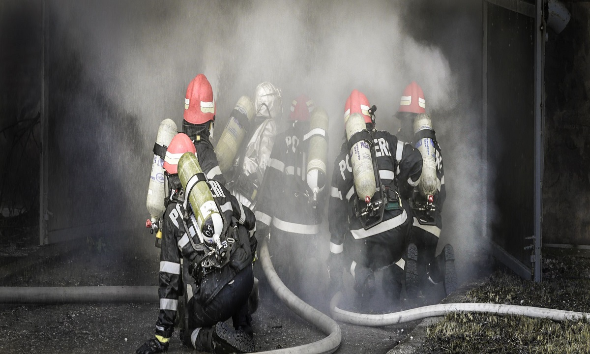Incendiu în București, în Sectorul 1