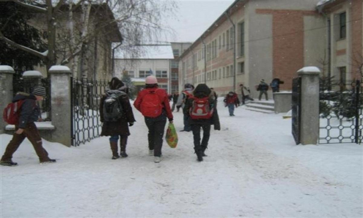 Școlile și liceele în care nu se fac ore joi, 29 noiembrie
