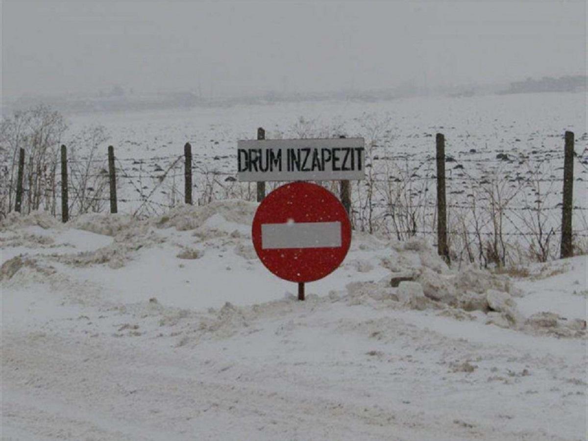 Anunțul IGSU după ninsori. Care este starea drumurilor