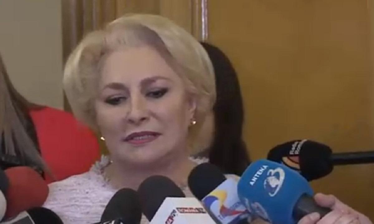 Viorica Dăncilă trage cu TUNUL în Guvern Orban: Asta este guvernarea ZERO